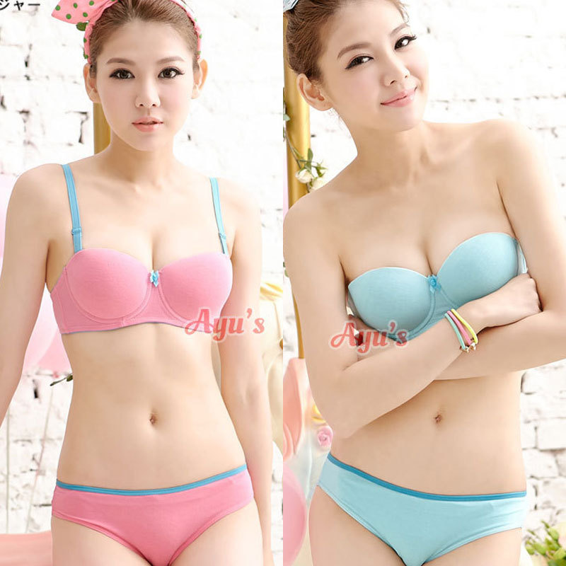 Aliexpress.com : Buy Candy Color girls bras kids underwear ...
