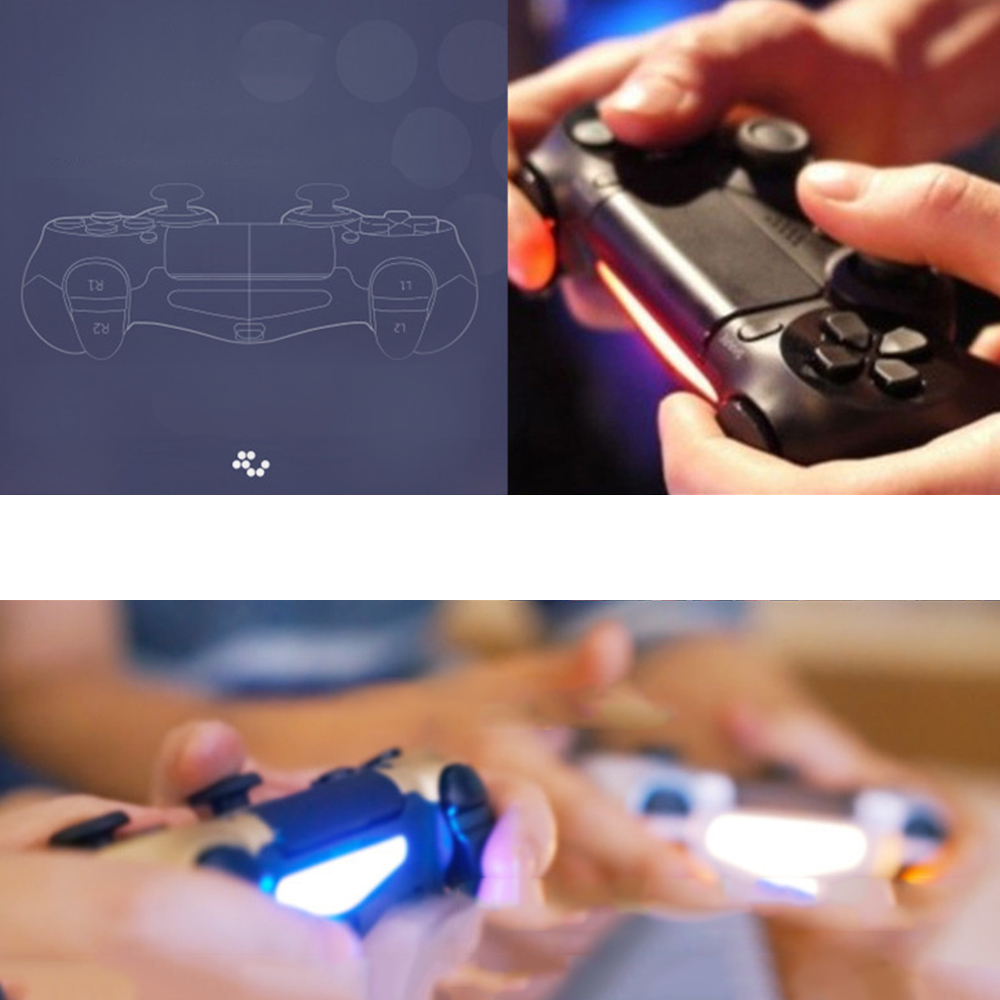 Version 2 Bluetooth Wireless Controller For SONY PS4 Gamepad For Play Station 4 Joystick Console For PS3 For Dualshock Controle