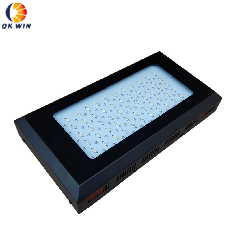 Dropshipping 120w Dimmable Full Spectrum led aquarium light 55x3W=165W for coral reef fish tank plants