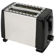 Автоматический тостер, тостер с 2х широкими прорезями для до 4х дисков, 6х шелковых ступеней с горячим рулоном для Круассанов, бубликов, ЕС