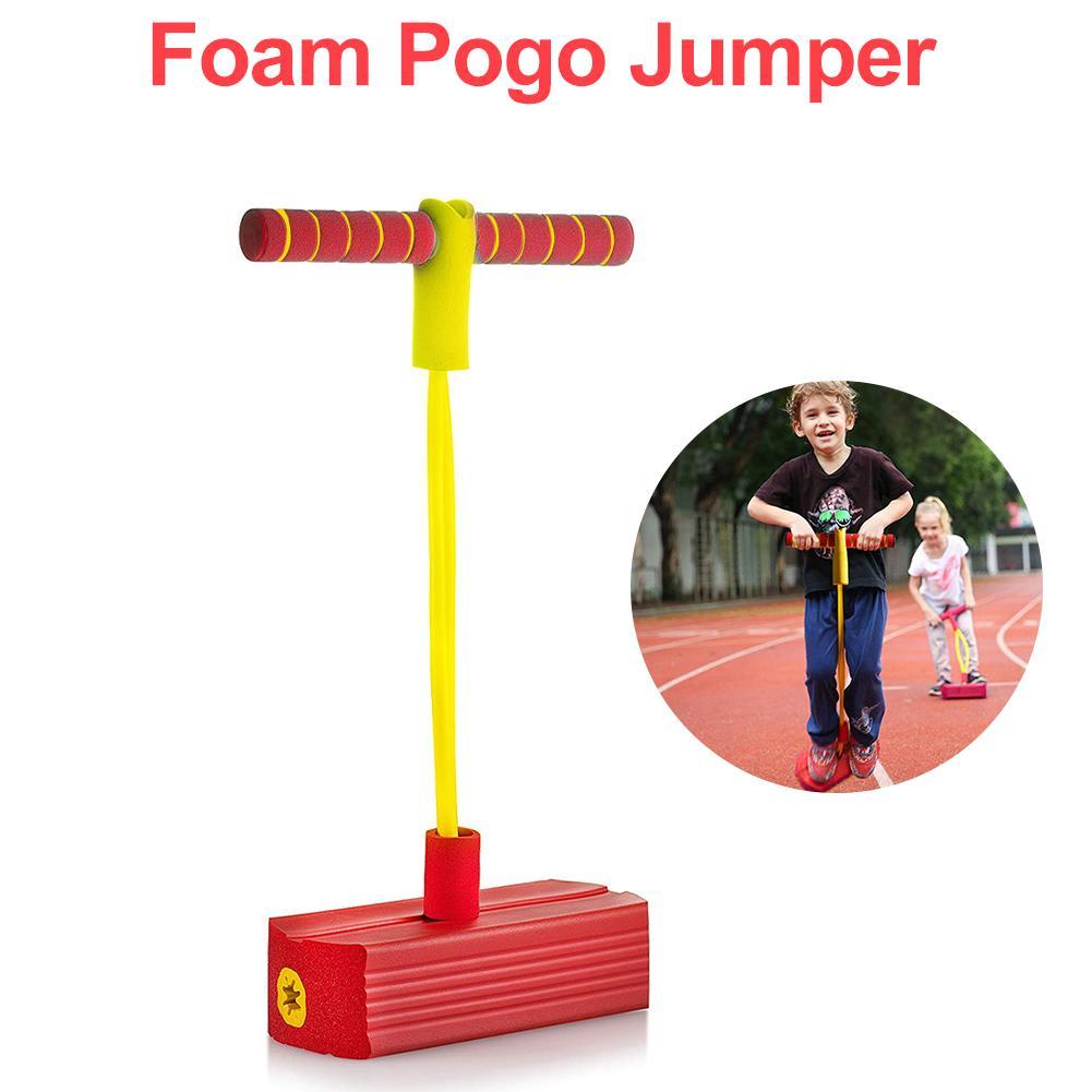 Espuma Pogo Pogo Stick Jumper Para Crianças Divertido E Seguro Para Crianças de Espuma Durável E Bungee Jumper Para Brinquedos Das Crianças presente