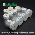 10/pcs 250K BGA reballing solder balls leaded 0.25 0.3 0.35 0.4 0.45 0.5 0.55 0.6 0.65 0.76 63Sn / 37Pb Solder Spheres balls