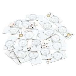 20/50/100 Pcs 6V Universal SMD Lampu Manik-manik dengan Lensa Optik Fliter untuk 32-65 TV LED Perbaikan Rumah Aksesoris