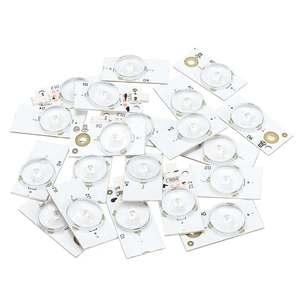 20/50/100 pces 6v universial smd contas de luz com lente óptica fliter para 32-65 Polegada led tv reparação casa acessórios de iluminação