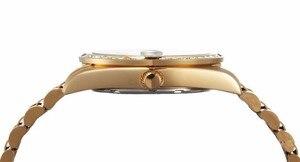 Image 4 - REGINALD Luxury Gold Mens Watches Unique Business Dress Wristwatch for Man Woman Clock Golden montre homme marque de luxe