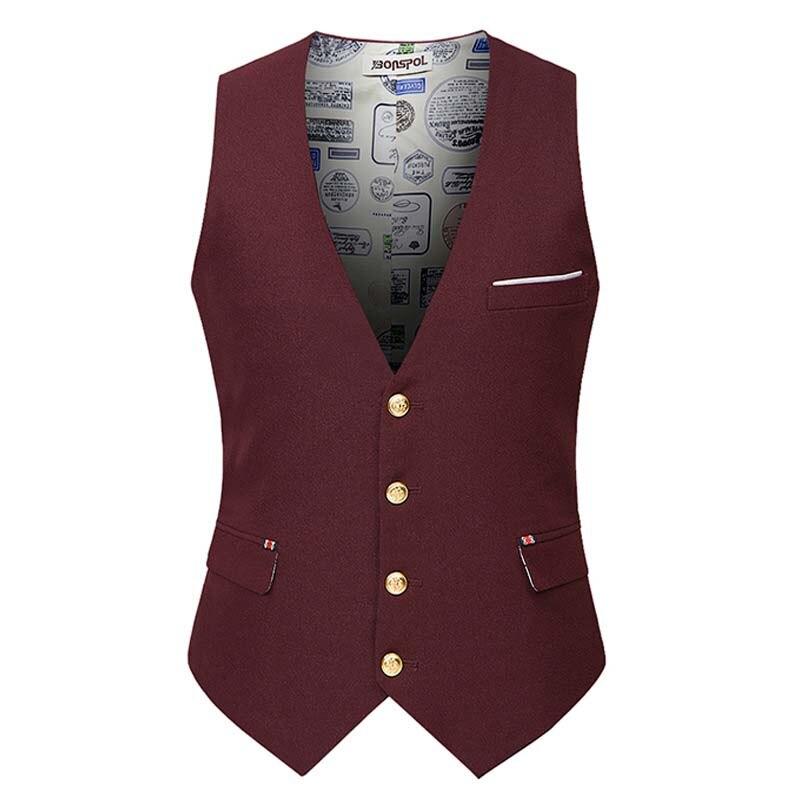 Hommes Minceur Masculin Robe Mariage De Formelle Gilet Breasted Nouvelle Pour Arrivée Bureau Blazer Vêtements Mode q147pY