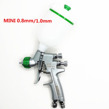 2019 nieuwe spuit Verf spuitpistool hoge verneveling reparatie spuitpistool mini spuitpistool 0.8/1.0mm hoge kwaliteit auto spuitpistool pro 6000G