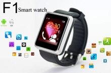2015 neue Smart Watch F1 Smartwatch Wrist wasserdicht für Android Telefon Mit 1,3 Mt Kamera Unterstützung SIM Karte 32 GB TF Karte Anti-verlorene