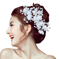24 PCS Acessórios de Cabelo Da Dama de honra Frisada Headpiece Nupcial Pérola Cabelo Pin Clipe Para As Mulheres