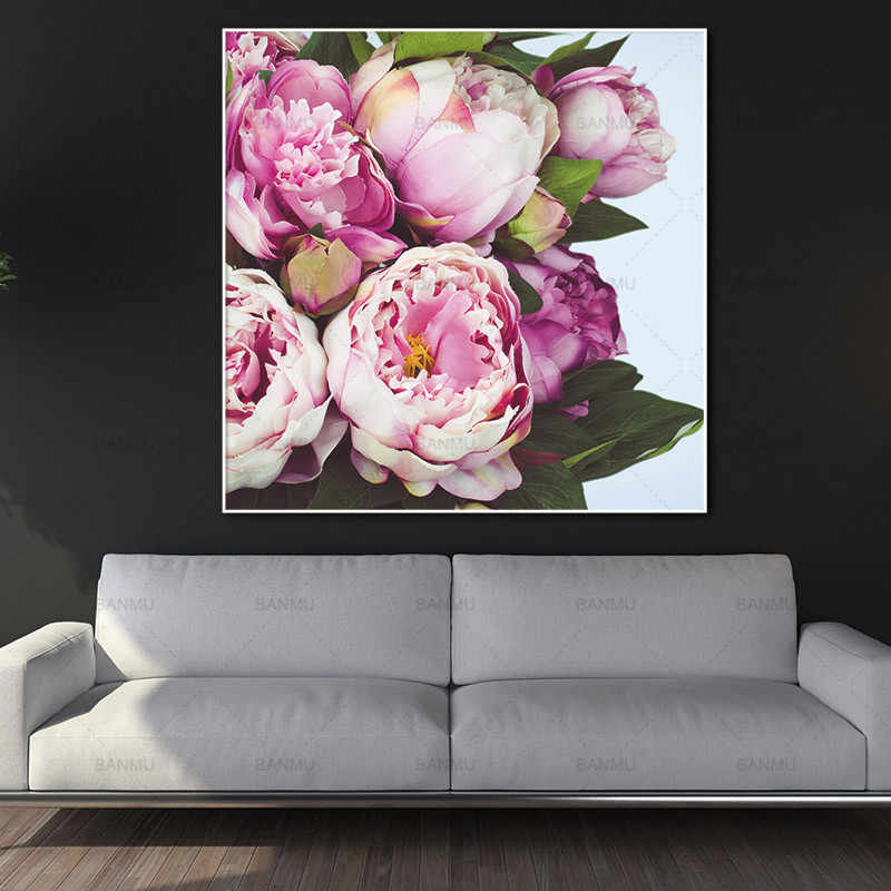 Canvas print Art pictures Wall painting beautiful flower home decor  New modern print flower on  Canvas Pictures  no frame