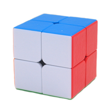 Shengshou GEM Series Pinkycolor 2x2x2 Speed Magic Cube Puzzle Game Cubes Educational Toys for Children Kids