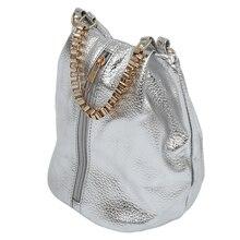 New Vintage Ladies Shoulder Handbag Women Handbag girl bags Messenger Bag (silver)