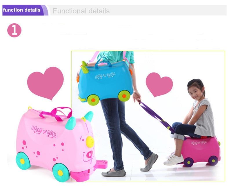 Kids Ride On Suitcase Mc Luggage