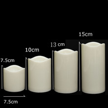 Flameless Battery Operated LED Candles Tealight Night Lights Lamp for Wedding Birthday Party Christmas Home Decor