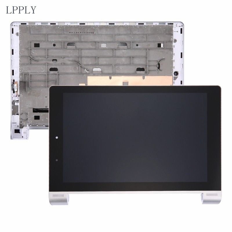 все цены на LPPLY LCD assembly Whit frame For Lenovo Yoga 10 B8080 B8080-F B8080-H LCD Display Touch Screen Digitizer Glass FREE SHIPPING онлайн