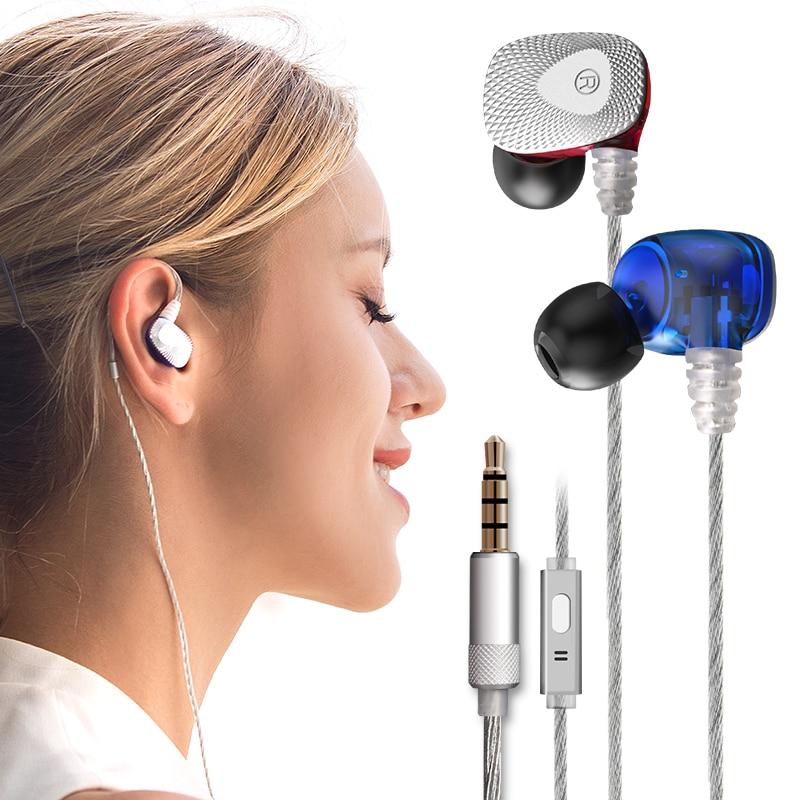 купить 2017 High Quality mifo R1 Dynamic Stereo Wired Earphone Super Bass Stereo sound In-Ear 3.5mm AUX with Mic earphones for Phone недорого