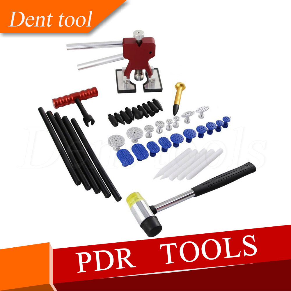 Dent Lifter Hail Repair Kit - Silde Hammer Puller Knock Down - Glue Pulling Tab - PDR Tool цена