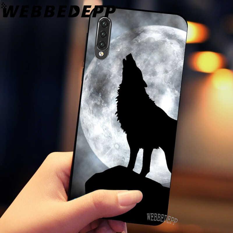 WEBBEDEPP ירח השואג וולף רך TPU מקרי כיסוי עבור Xiaomi Redmi 7 4A 5A 6A 8A S2 4 4x5 בתוספת 6 פרו