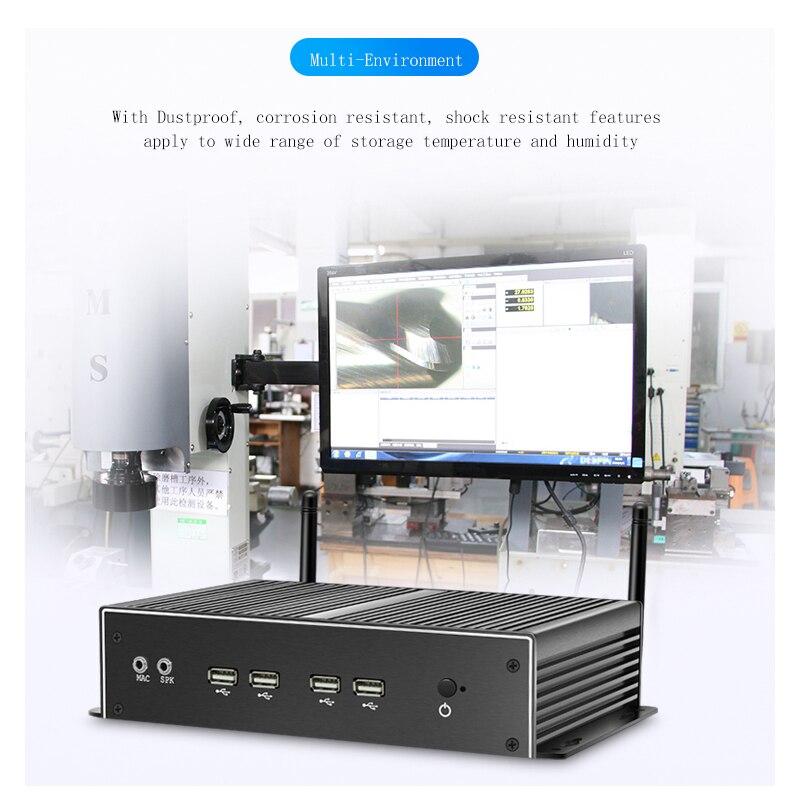 6COMポート4500U Win10 ComputadorデュアルギガビットイーサネットLAN 4200U