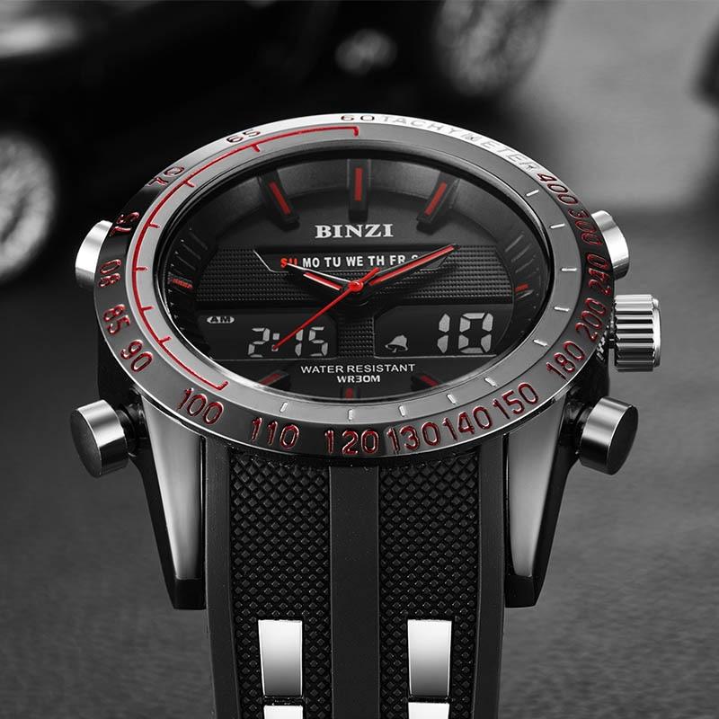 Αθλητικά ρολόγια Ανδρικά Στρατιωτική - Ανδρικά ρολόγια - Φωτογραφία 3