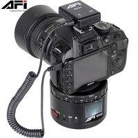 AFI MA2 360 Time Lapse Video Camera Rotator Panorama Tripod Head LED For Canon Nikon Sony DSLR Phone 360 Gopro Timelapse Panning