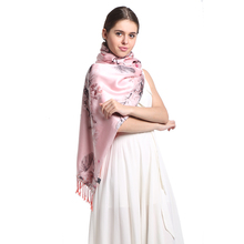 [Long Scarf]100% Silk Satin Velvet Long Scarf Mulberry Silk New Desigual Winter Warm Scarves/Shawl Women Wrap Wholesale