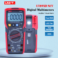 UNI T UT89XD TRMS digital multimeter tester ac dc Voltmeter Ammeter Capacitance Frequency Resistance tester with LED testing