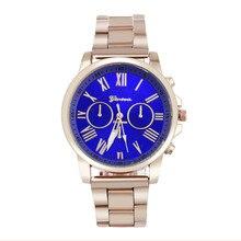 Luxury Stylish Women men Watches Stainless Steel Quartz Sports Dial Fashion Unisex Wrist Watch wholesaleF3