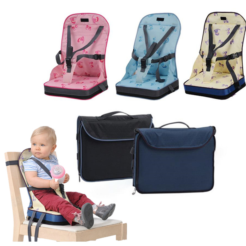 Safety Baby Chair Seat Portable Infant Dining Chair Bag Seat Travel Chrilren Increased Chair Pad Baby Booster Seats Cushion Mat