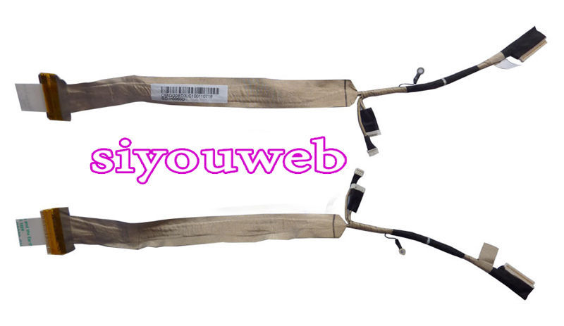 NEW for Toshiba Satellite P300 P300D P305 P305D LCD LED LVDS SCREEN VIDEO FLEX CABLE DD0BD3LC000