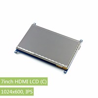 Parts Raspberry Pi 3 2 Display 7inch HDMI LCD Rev2 1 1024 600 Capacitive Touch Screen