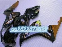 Dor black orange for fairings 1000rr 06 07 2006 2007 fairings 2006 2007 fairing CBR1000RR 06 07 2006 2007 kits for D