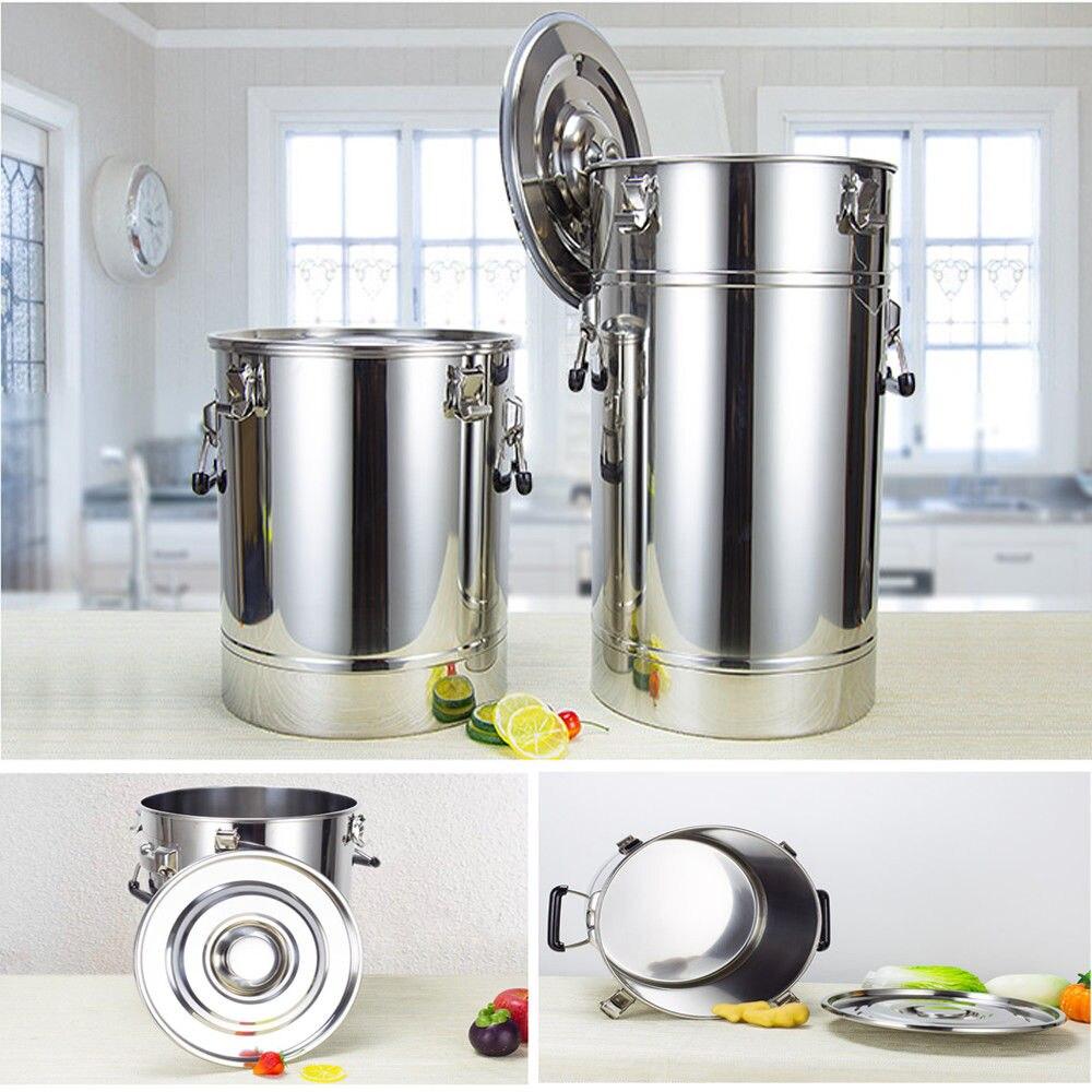 Pièces de rechange Pour Moonshine Still/Maison Distillateur: 25L-175L 304 Inoxydable Fermenteur Réservoir De Stockage Alimentaire Lait Vin Brassage de La Bière baril