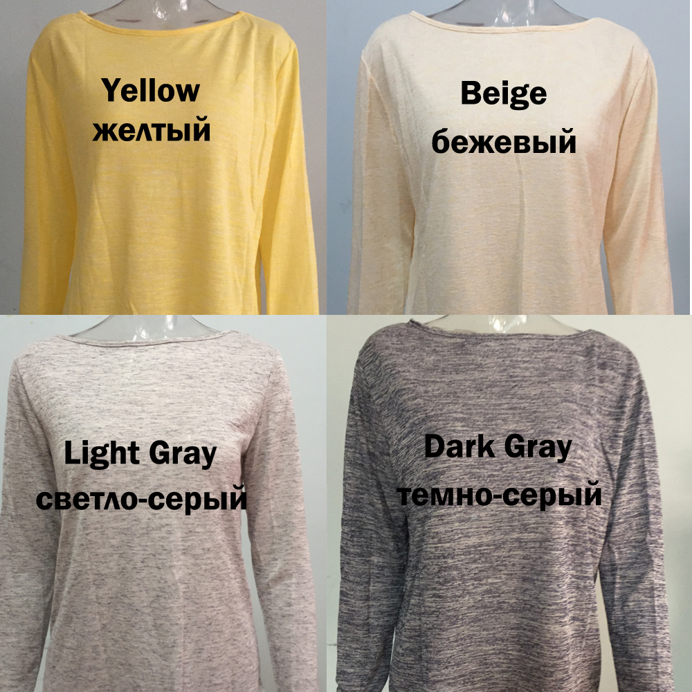 Spring Summer Solid Blouse Female Casual O Neck Long Sleeve Women Tops Loose White Blusas Shirts