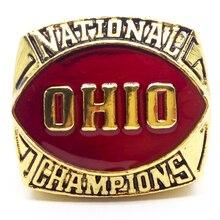 Nuevas adquisiciones 1961 ohio state buckeyes anillo campeonato nacional envío de la gota