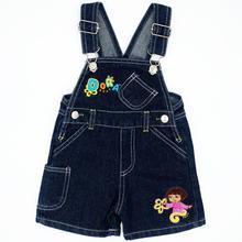 Wzór losowy kolor 4 rozmiar dla niemowląt chłopcy dziewczęta spodnie na szelkach spodnie dla dzieci Denim spodnie dla dzieci odzież dla niemowląt dżinsy kombinezony spodnie tanie tanio JEANS Unisex Stałe Beloved Angel Na co dzień Przycisk fly JJYZ129 Pasuje prawda na wymiar weź swój normalny rozmiar