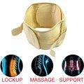 Cintura Cinto de Suporte lombar Chaves de Volta Quatro Aços Respirável Tratamento da Hérnia de Disco Lombar Tensão Muscular Madeira