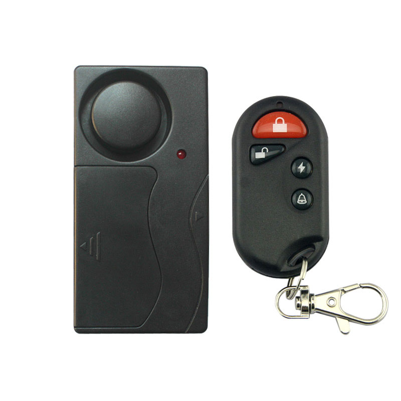 Wireless Remote Control Bicycle Electromobile Home Security Vibration Alarm Home Alarm System Window Door Shock Alarm Sensor wireless remote control anti theft mtb cycling security audible sound lock guard bike bicycle alarm siren shock vibration sensor
