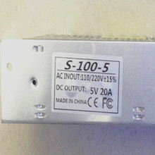 5V 20A 100W CCTV Switching Power Supply Transformers For LED Strip Light WS2811 WS2812B WS2801 AC110/220V TO DC 5V Adapter