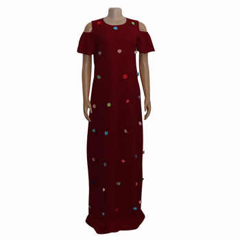 African Dresses For Women 2019 New African Women Clothing Fashion Africaine Robe Long Loose Maxi Dress Africa Clothes