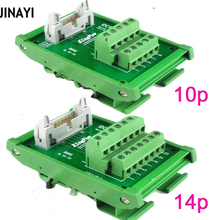 IDC64P IDC50P IDC34P IDC30P IDC26P IDC20P IDC10P мужской клеммный блок Breakout PLC релейные терминалы разъем адаптера