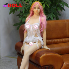 High Quality 148cm Real Silicone Sex Dolls Big Boobs Real Dolls Sex Toys Rubber Woman Metal Skeleton Sex Dolls Oral Anal Vagina(China)