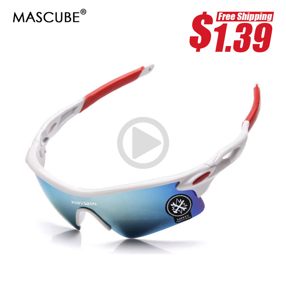 MASCUBE Men Women Cycling Glasses Outdoor Sport Mountain Bike MTB Bicycle Motorcycle