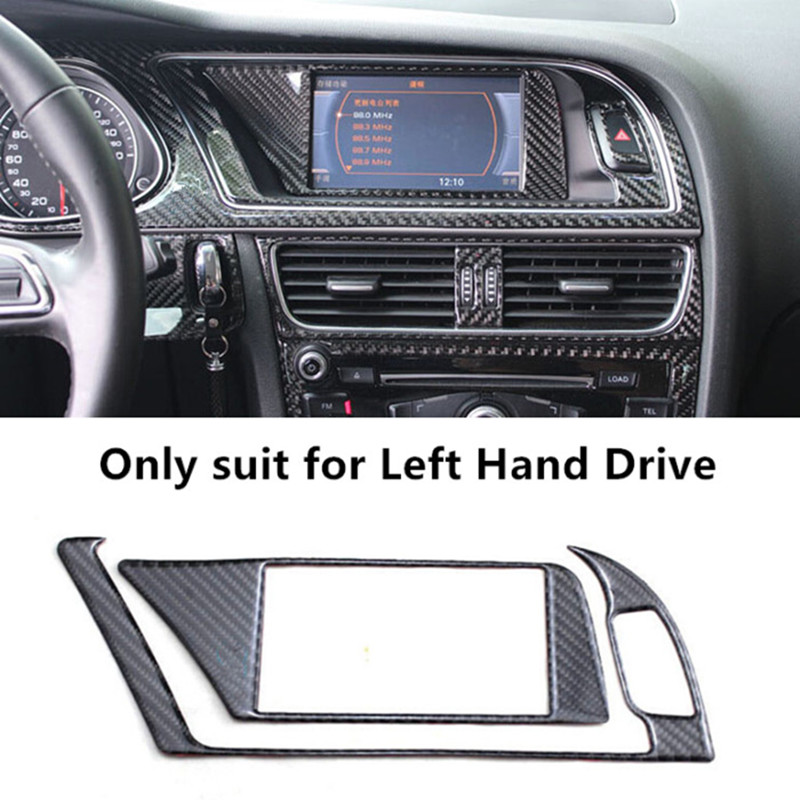 carbon fiber interior navigation panel warning lamp frame. Black Bedroom Furniture Sets. Home Design Ideas