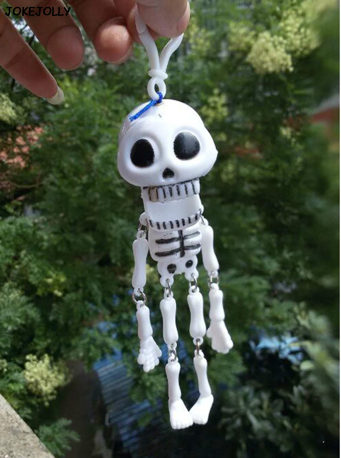 Halloween Toy Kids Adult Funny 15cm Plastic Luminous Skull Skeleton Body 2018 Scary Simulation Halloween Toy Festival Gags & Practical Jokes Novelty & Gag Toys
