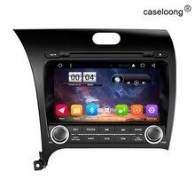 Android 6.0 Coches Reproductor de DVD para Kia Cerato Forte 2013 2014 radio de coche GPS unidad principal Estéreo soporte OBD2 USB construido en wifi