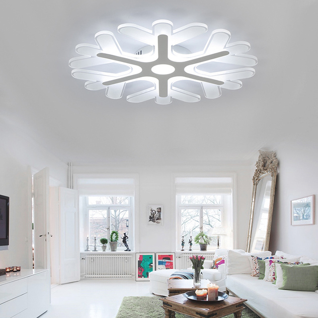 Personalized Fashion Led Bedroom Ceiling Lights Modern Creative Slim