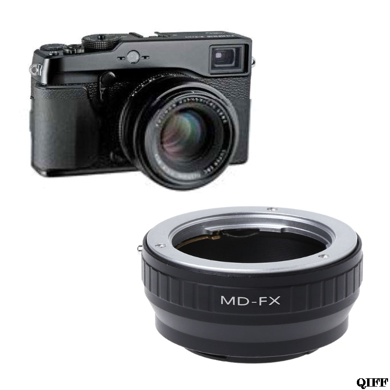 Drop Ship&Wholesale MD-FX Mount Adapter Ring For Minolta MD SR Lens to Fujifilm X Mount Fuji X-Pro1 APR29