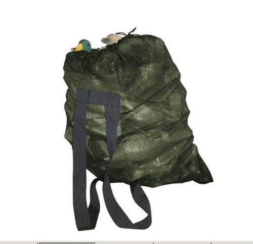 Topsniper Decoys Bag With Shoulder Straps Mesh Decoy Bags Pigeon/Dove Carry Decoys Green
