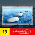 19 Polegada Widescreen Open Frame Monitor Com Interface HDMI E Relação de 16:10 Para Exibição do Monitor LCD industrial